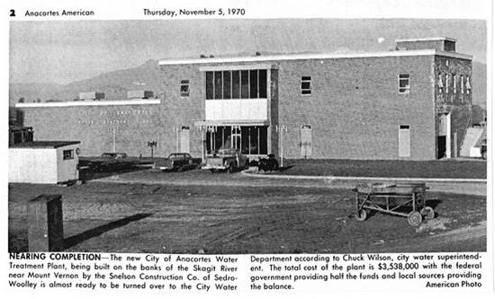 New Water Treatment Plant 1970