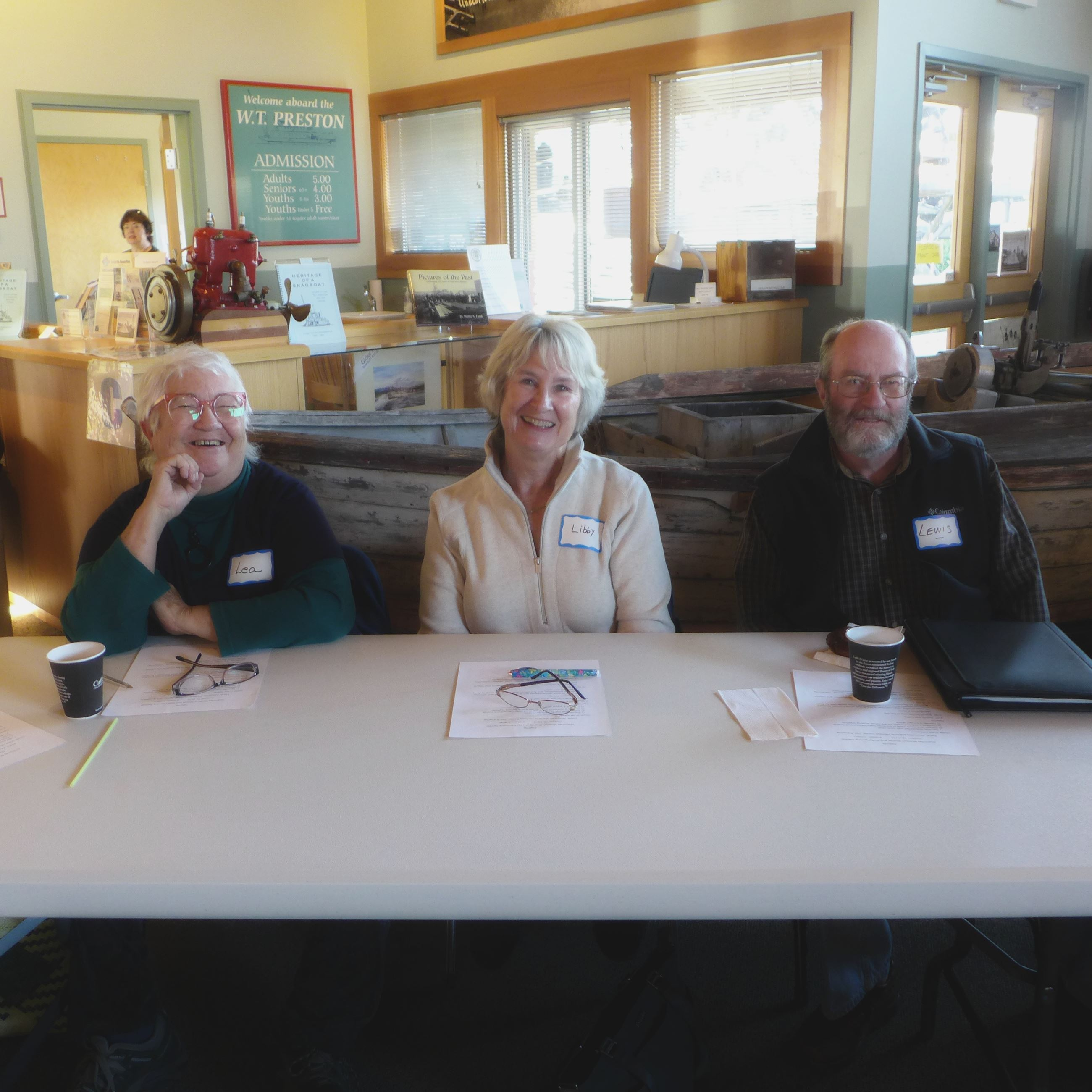 2018-10-15 Retreat Lea, Libby, Lewis